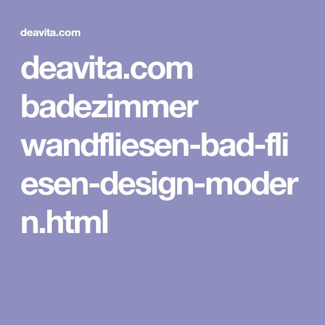 deavita.com badezimmer wandfliesen-bad-fliesen-design-modern.html