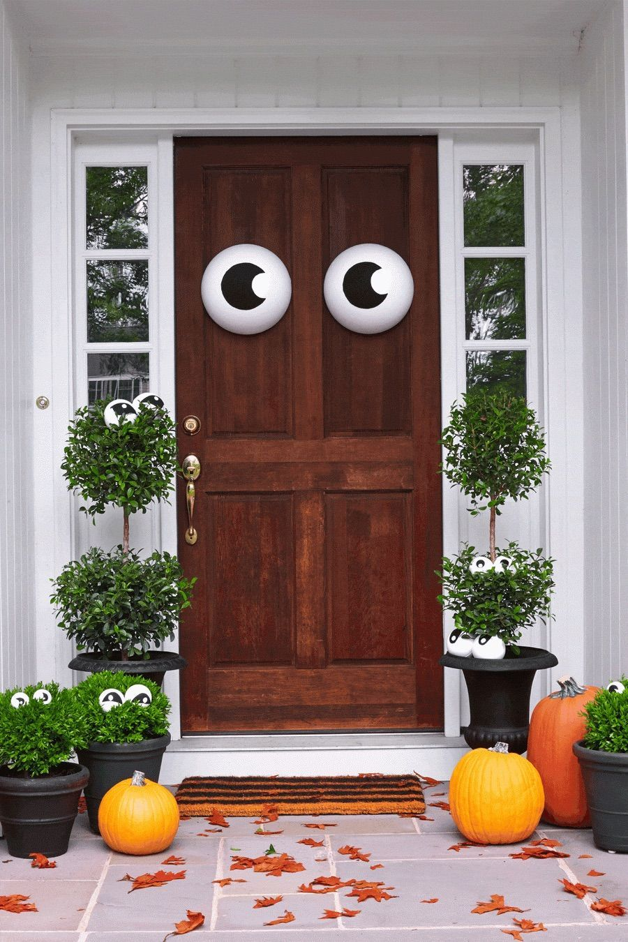 31 Halloween Front Porch Decor Ideas