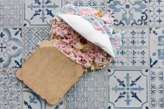Miss Blueberrymuffin's kitchen: Einfache Einhorn-Torte ...