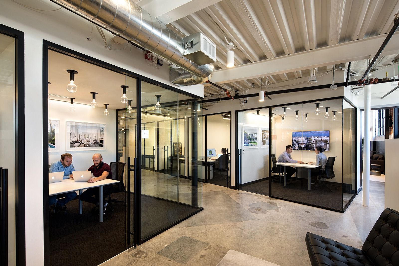 A look inside compass san francisco office office - Office interior design san francisco ...