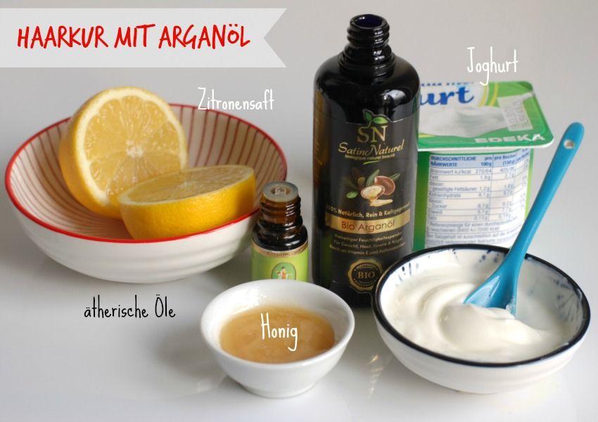 ▷ ARGANÖL-HAARMASKE: 5 DIY Rezepte für schöne Haare****