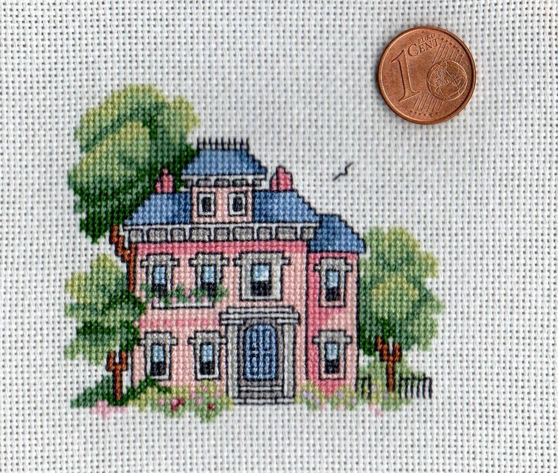My work in miniature: Cross Stitch | Casas de muñecas | Pinterest ...