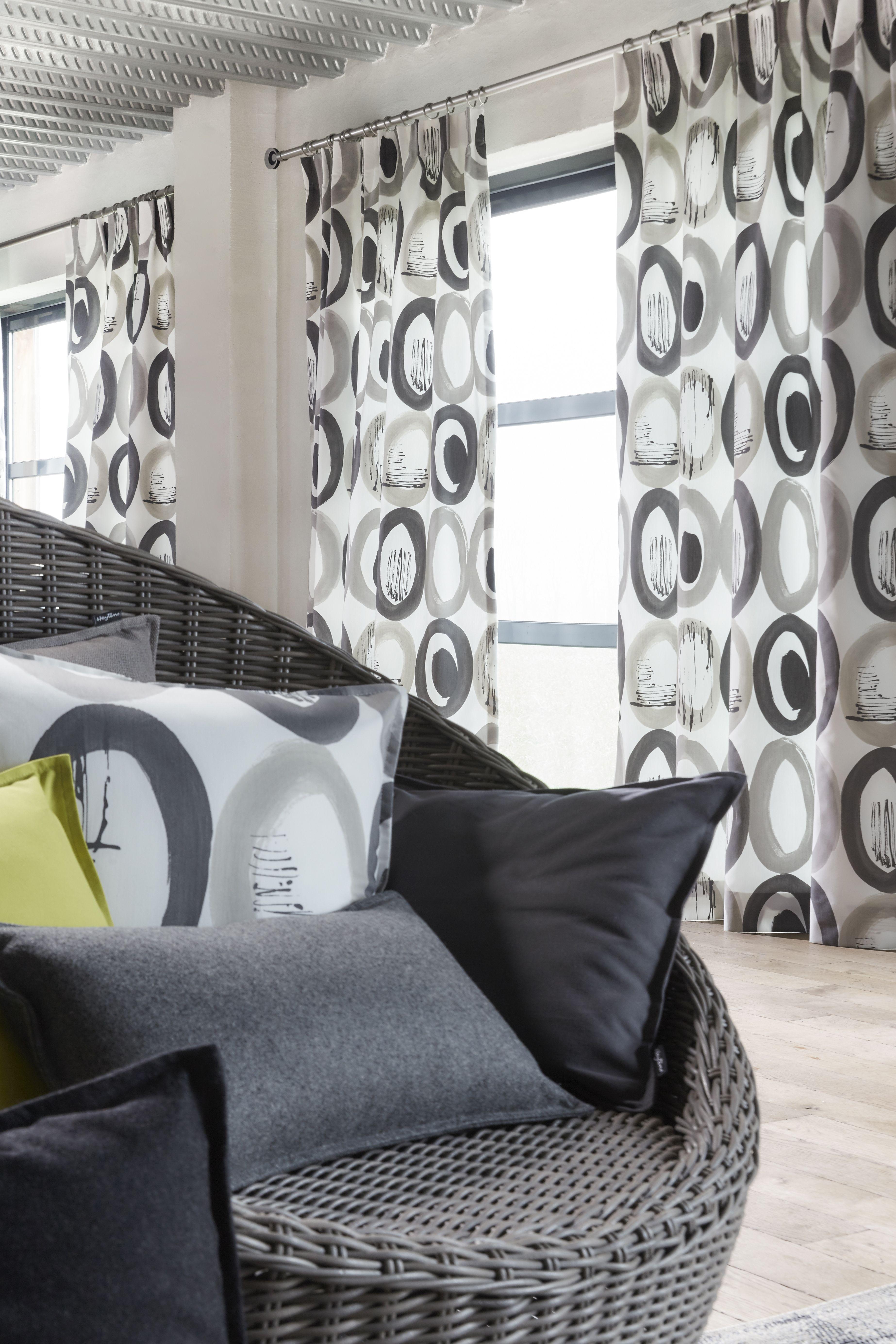 ambiance tissu ellipse gris collection heytens 2014. Black Bedroom Furniture Sets. Home Design Ideas