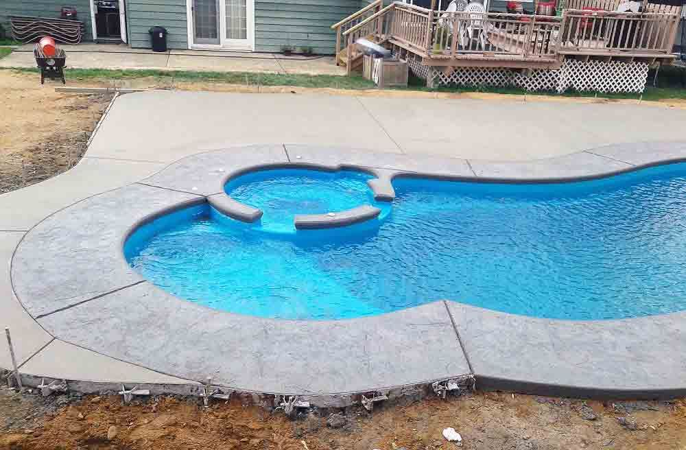 Leisure Pools : Allure 35 SPA Combo Pool Model in 2020 ...