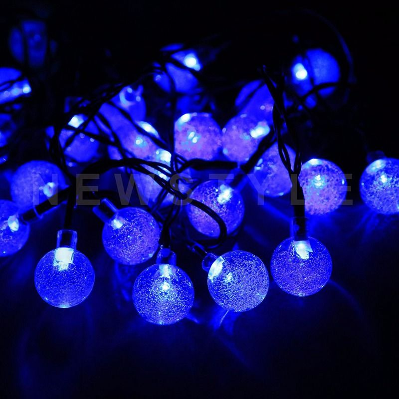 FUNIQUE 1Set Solar Energy LED String 21m Fairy Lights Christmas - solar christmas decorations