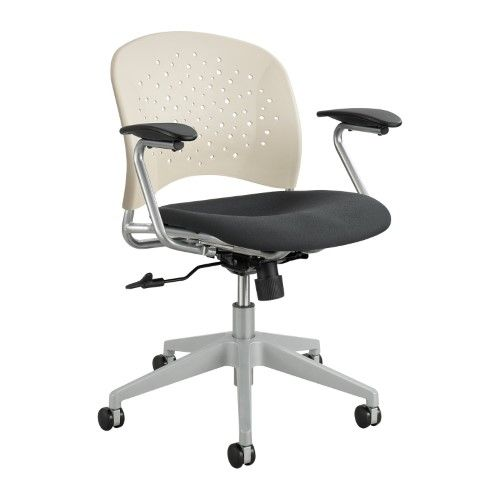 Safco Products Reve Task Chair Round Back, Beige