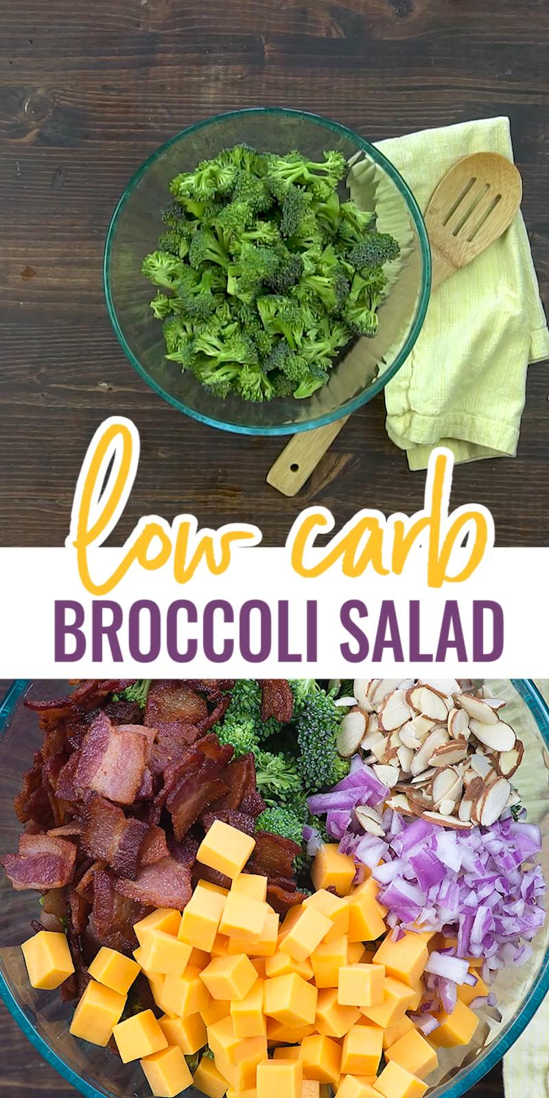 Broccoli Salad with Bacon!