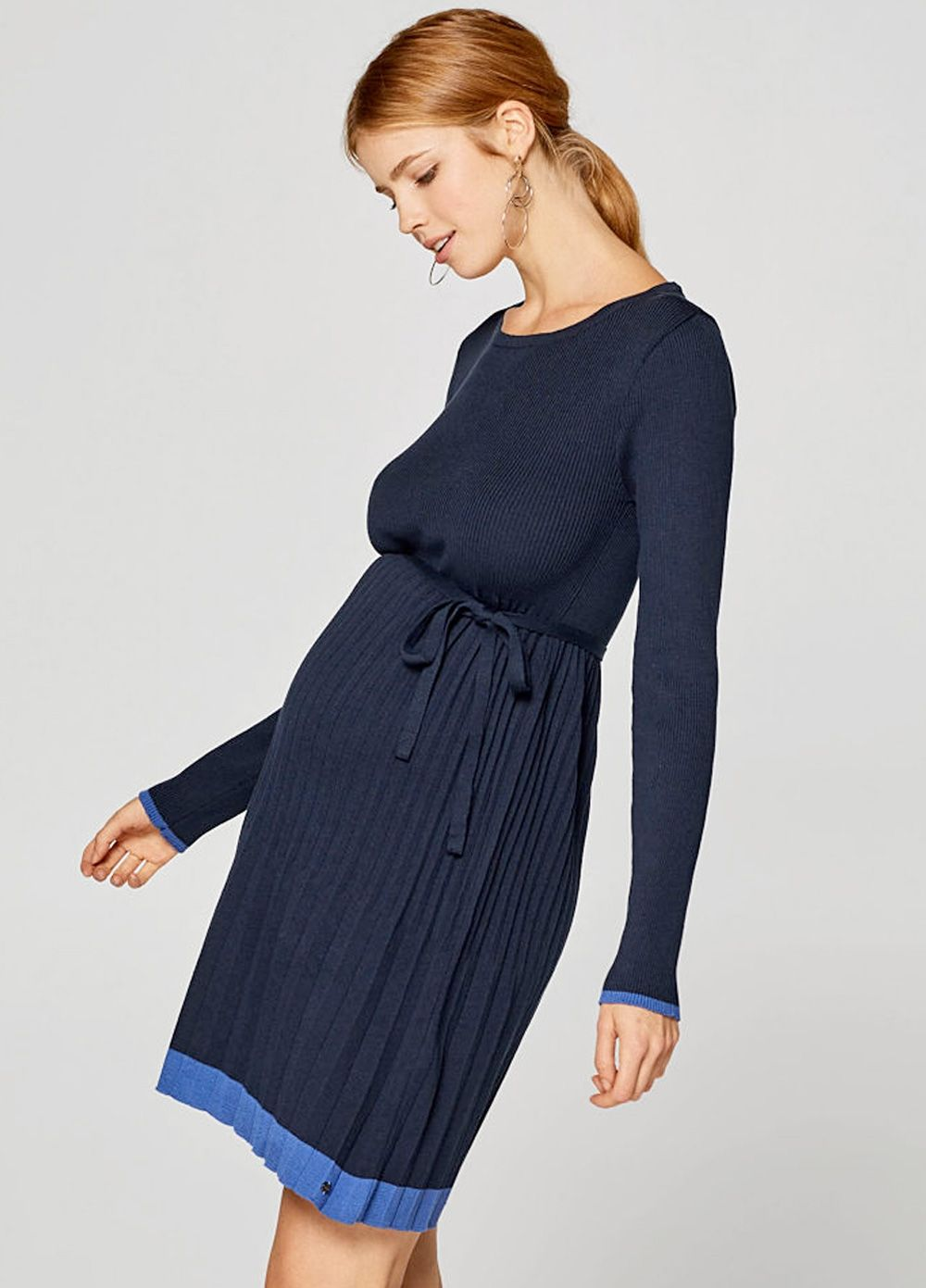 05e5a39a94961 Esprit - Pleated Knit Dress. Find this Pin and more on : Esprit Maternity  ...