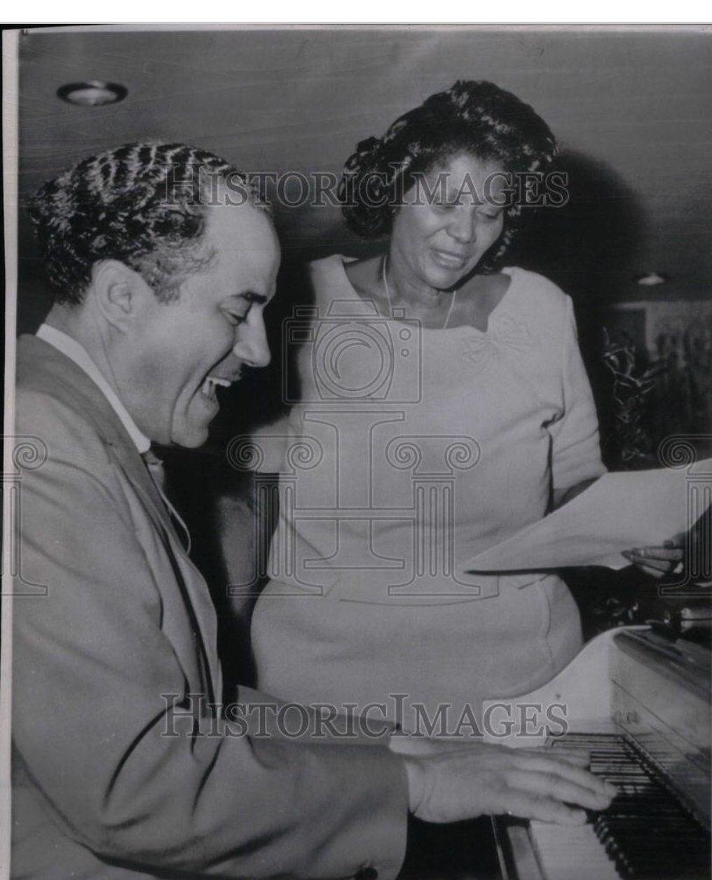 Mahalia Jackson and her husband, 1965 | Mahaliaaa!!!! in 2019