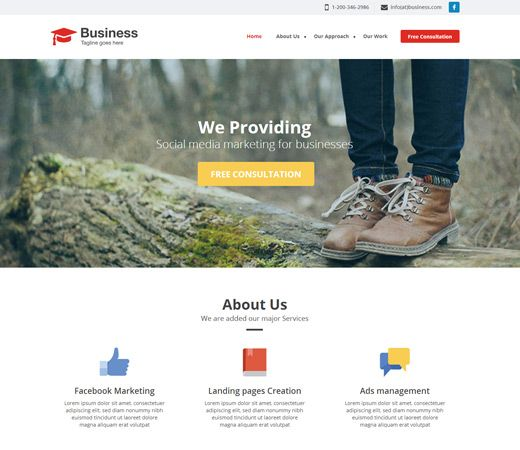Agency business a singlepage flat bootstrap responsive web template agency business a singlepage flat bootstrap responsive web template httpw3layouts cheaphphosting Choice Image