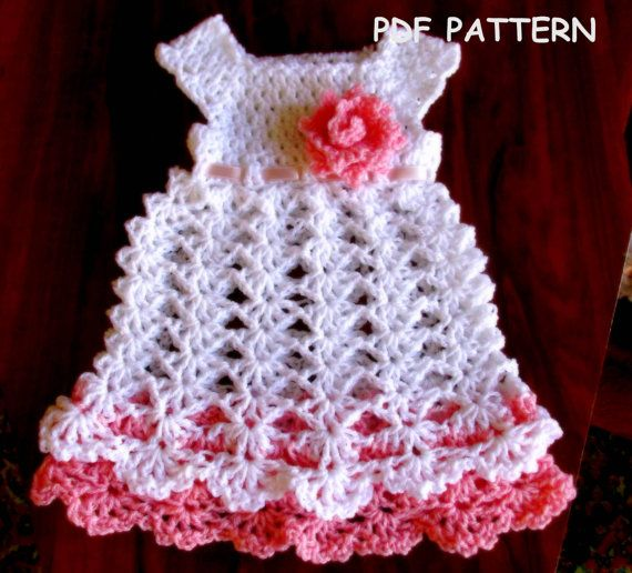 Hey, I found this really awesome Etsy listing at https://www.etsy.com/listing/237507394/crochet-baby-dress-pattern-crochet
