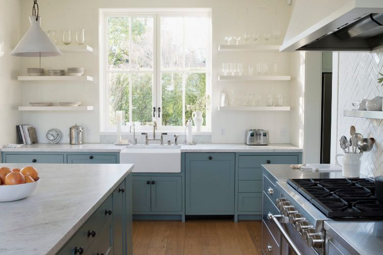 küche neu gestalten ideen praktisch küchenaufbewahrung kücheninsel