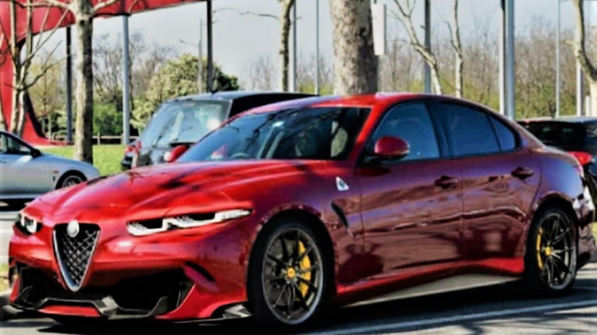 Alfa Romeo Giulia Quadrifoglio The Restyling Is Assumed Alfa