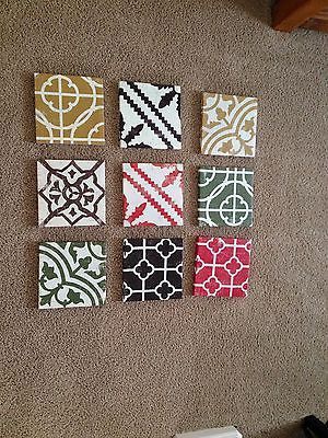 9-stretched-canvas-unique-wall-art-by-Target-Fun-patterns-Retail-50-NEW
