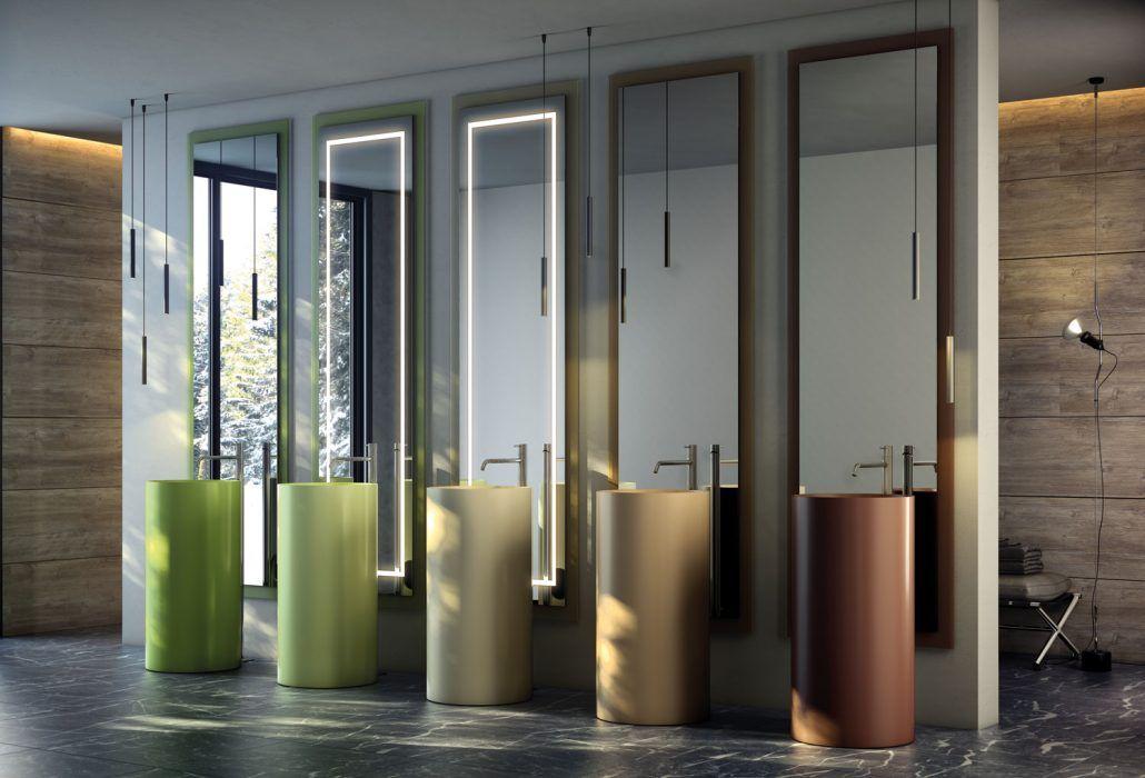 Muebles de baño personalizados, hechos a medida. Espejos. En ...