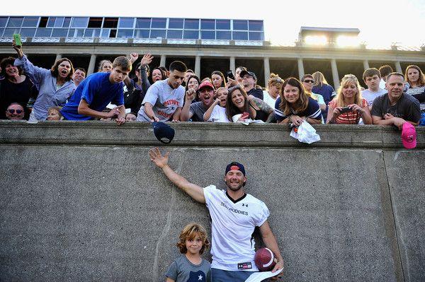Julian Edelman Photos Photos: Tom Brady Football Challenge