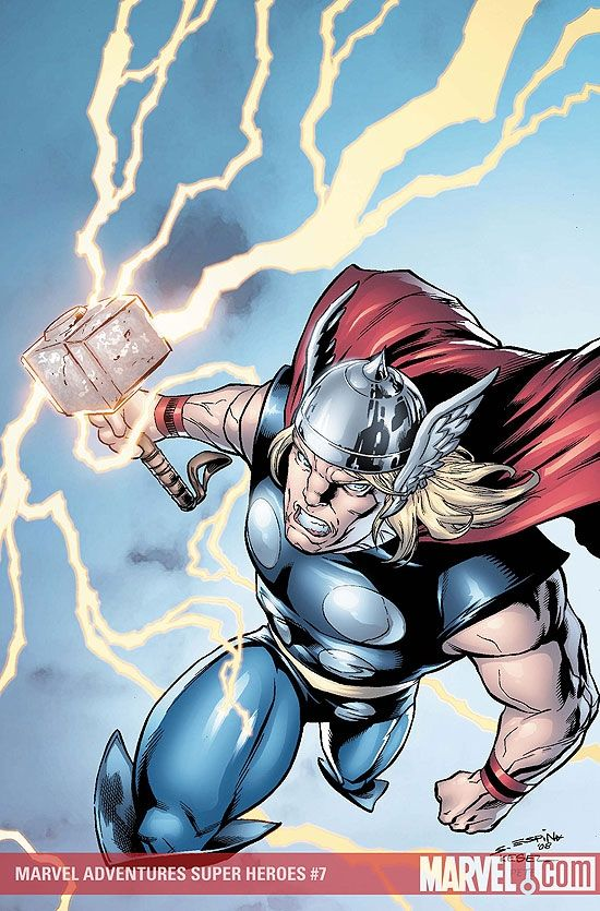 Marvel Adventures Super Heroes (Thor cover) (2008) #7