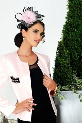 A truly elegant wedding guest outfit in black and pink, from Dress ...