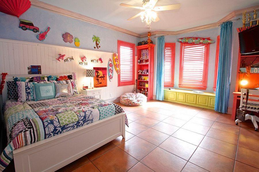 Beautiful kids bedroom with plenty of color Decoist Kids rooms