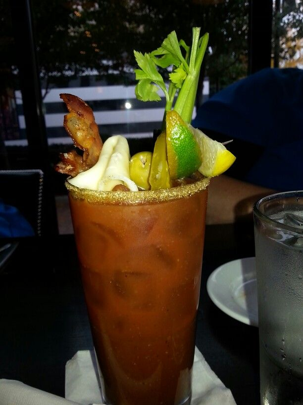 Twist on bloody Mary