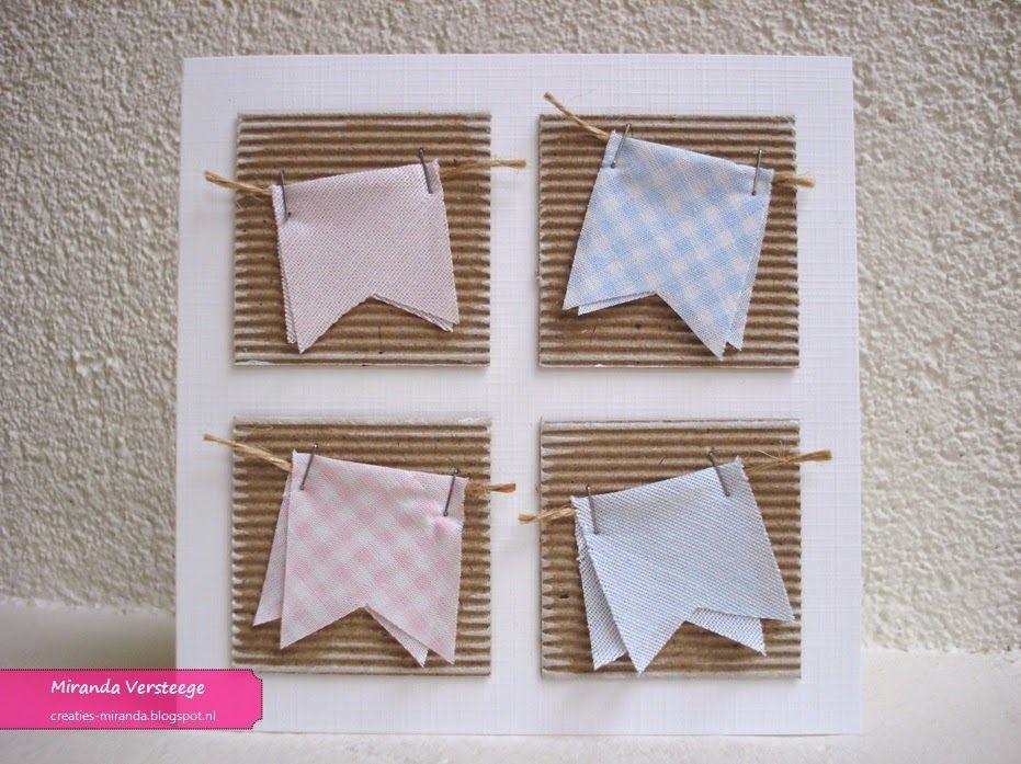 Miranda's Creaties: Breed lint #3: kleine vlaggen