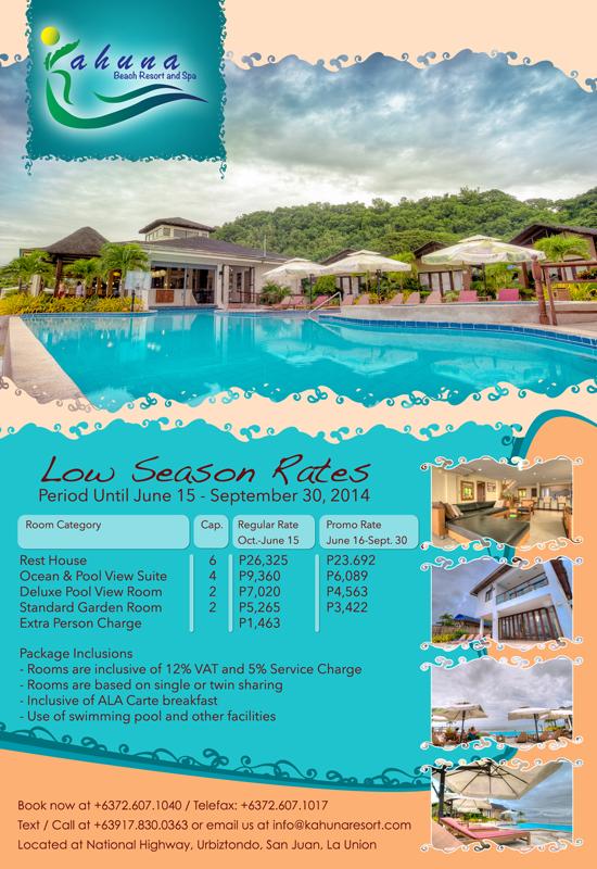 Kahuna Resort Rest House Resort Garden Room