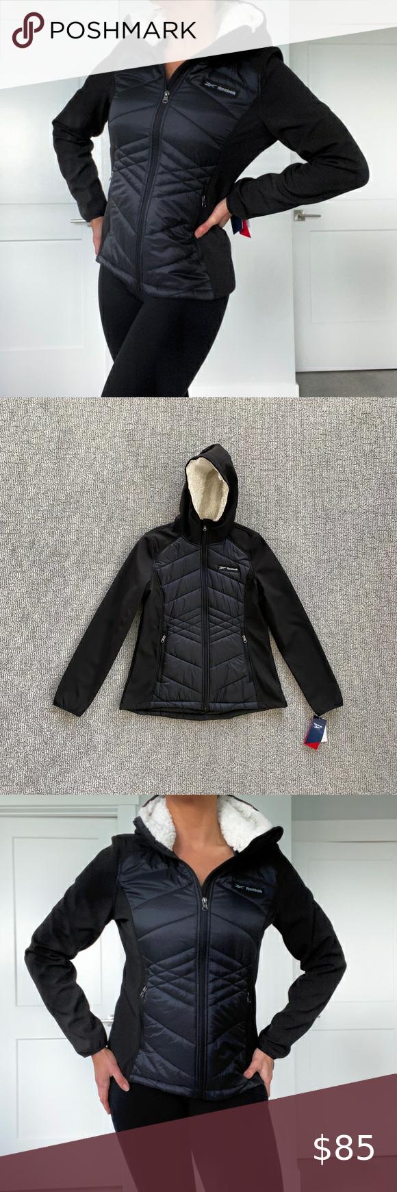 Reebok Black Puffer Jacket Black Puffer Jacket Puffer Jacket Women Black Puffer [ 1740 x 580 Pixel ]