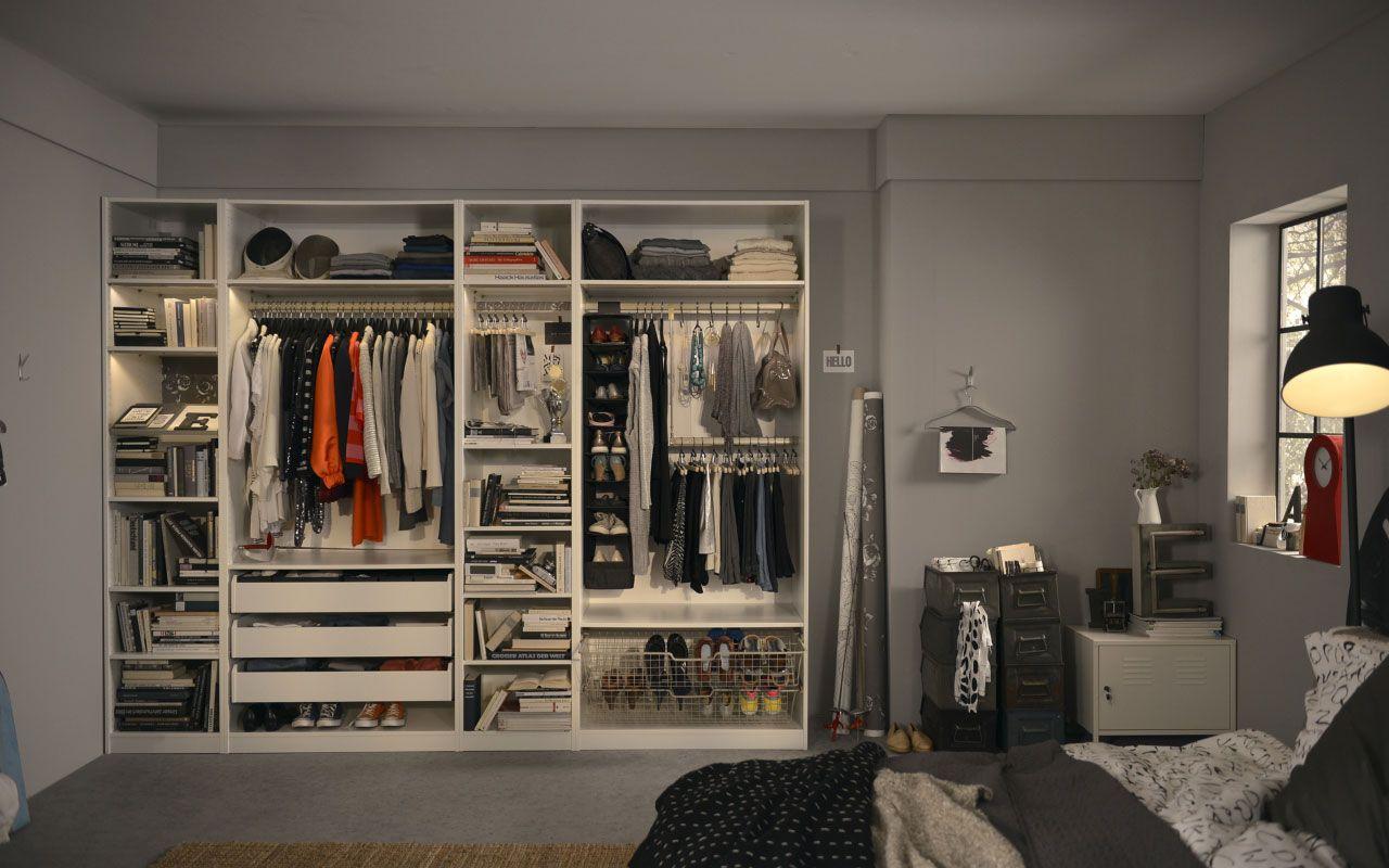 Pax ikea our very first apartment garderobe - Interior de armarios ikea ...