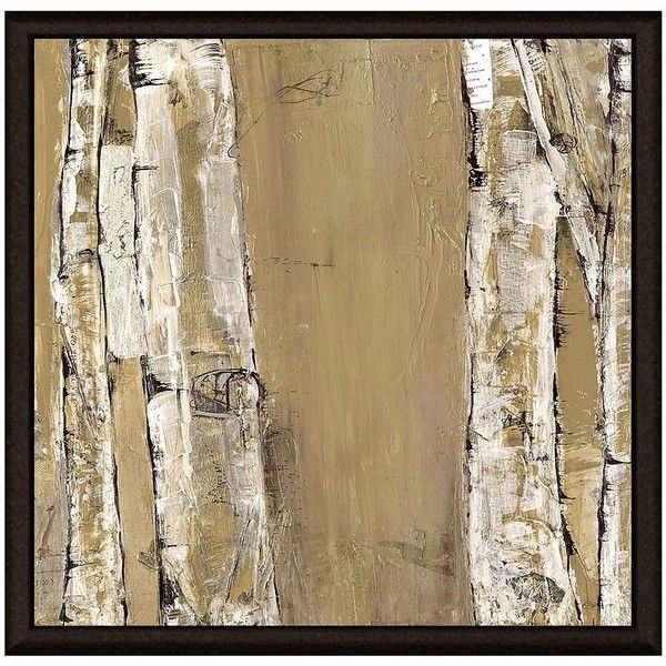Brown Stems II Framed Canvas Wall Art ($300) ❤ liked on Polyvore featuring home, home decor, wall art, brown, framed canvas wall art, horizontal wall art, canvas home decor, green leaf art and canvas wall art