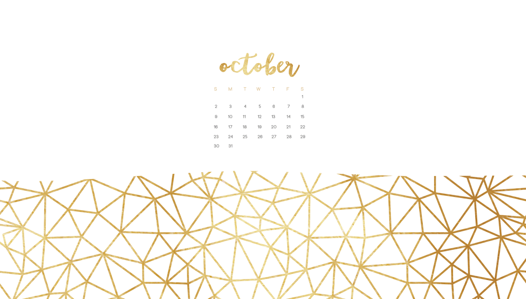 Free October wallpaper calendars for smart phone or desktop #octoberwallpaper #octoberwallpaper