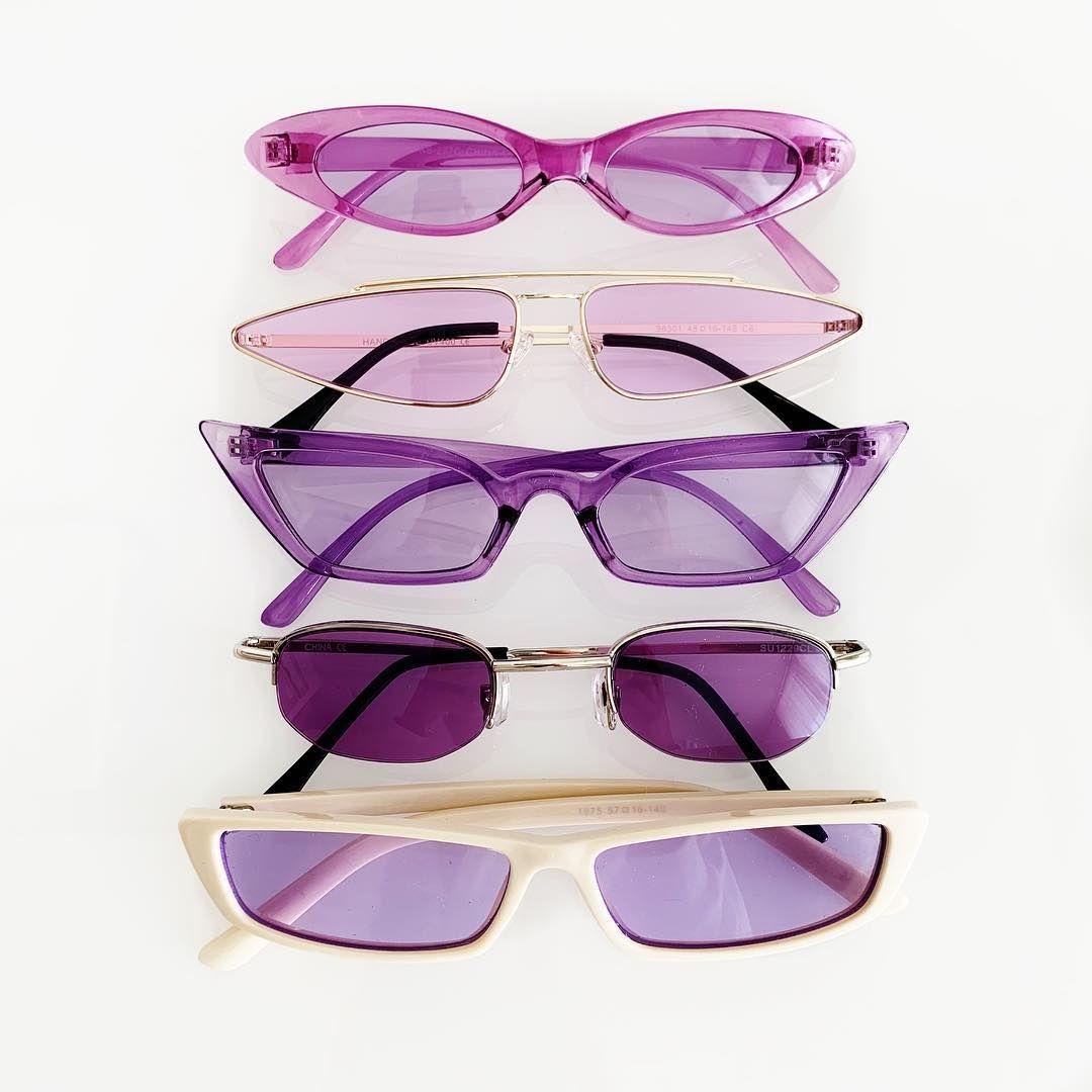 "COLD COCO on Instagram: ""💜Purple Vibes💜 Pictured: •Lil Baby sunglasses •Atari sunglasses •Brooke sunglasses •Ryta sunglasses •Emi sunglasses  Link in bio! #ColdCoco…"""
