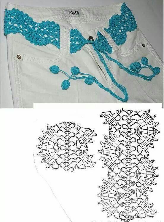 Correa en crochet | patrones de crochet | Pinterest