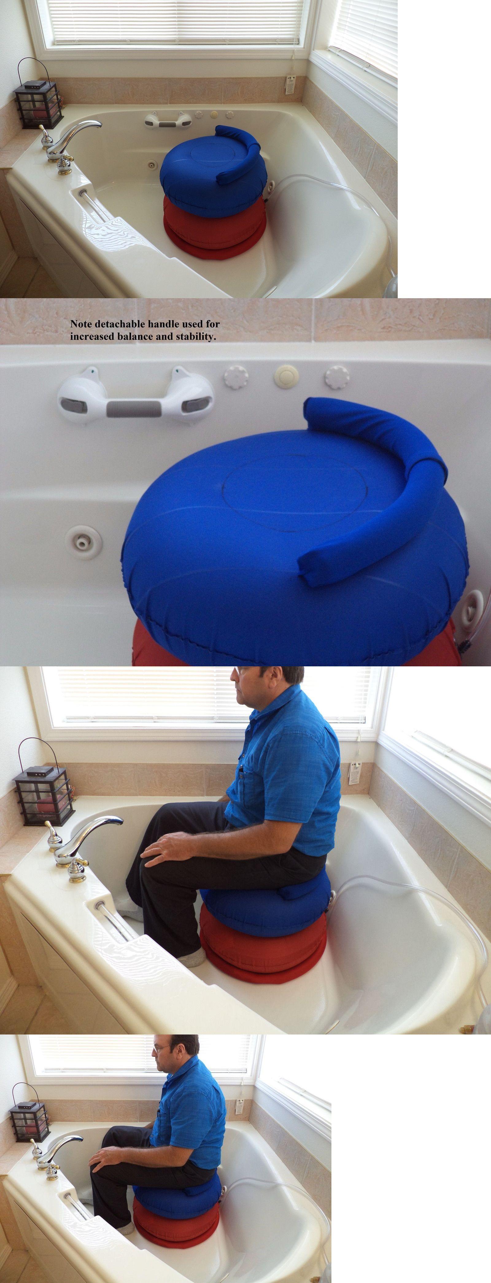 Shower and Bath Seats: Personal Cushion Bath Lift, Portable ...