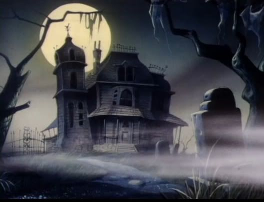 I want to live in a house w interior like casper the friendly ghosts house