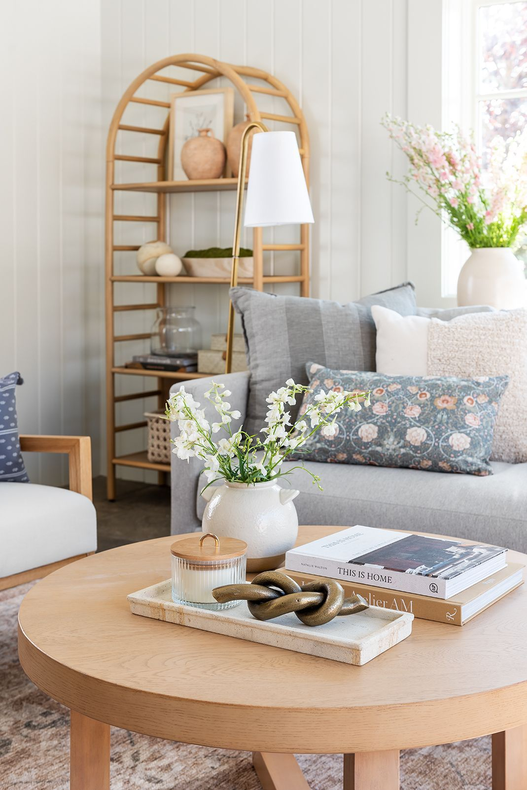 Redecorate For Spring With Threshold Designed With Studio Mcgee At Target Studio Mcgee In 2021 Farm House Living Room Couch Design Home Coffee Tables [ 1602 x 1069 Pixel ]