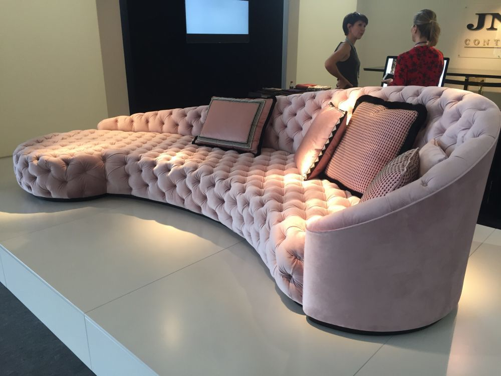 Tufted Sofa Designs From Clical To