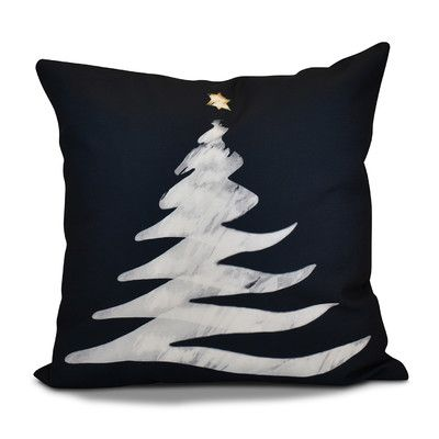 The Holiday Aisle Decorative Holiday Print Throw Pillow In 40 Interesting Outdoor Decorative Christmas Pillows