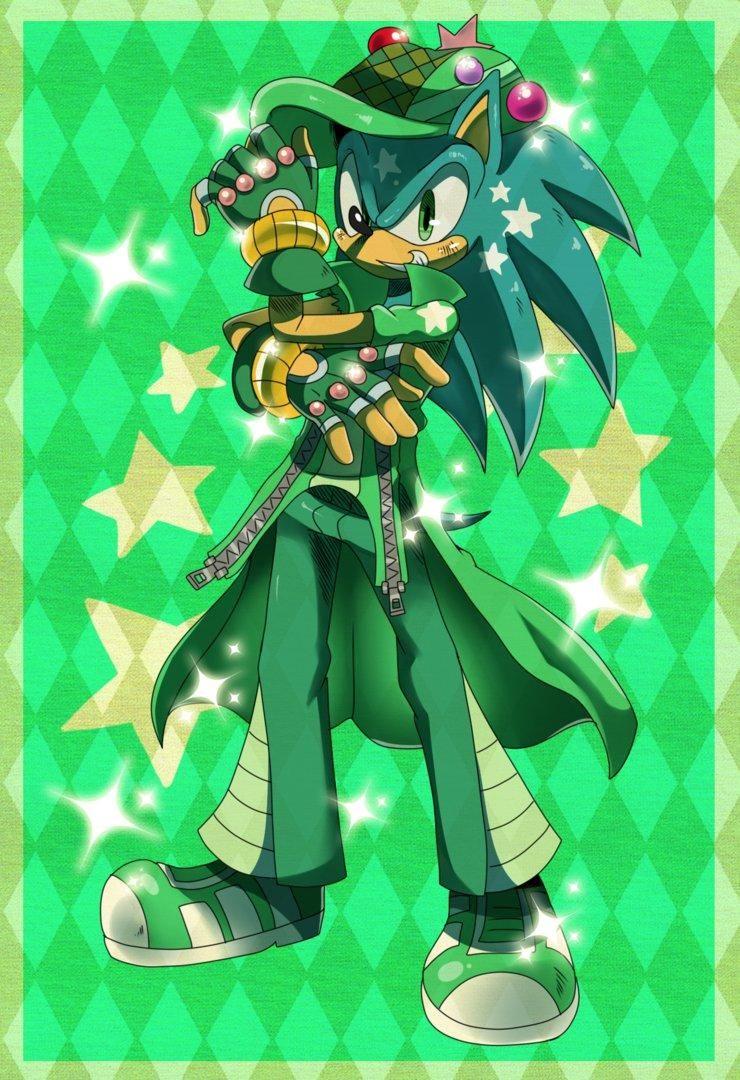 Sonic Jojo Style Sonic The Hedgehog Adventure Art Jojo S Bizarre Adventure Jojo Bizarre