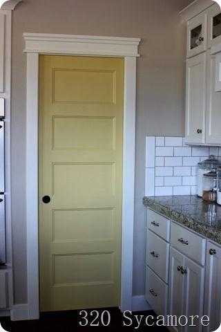 Image result for yellow interior door