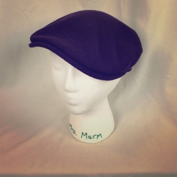 Kangol Accessories - Purple Kangol Newsboy Cap e87364f152c