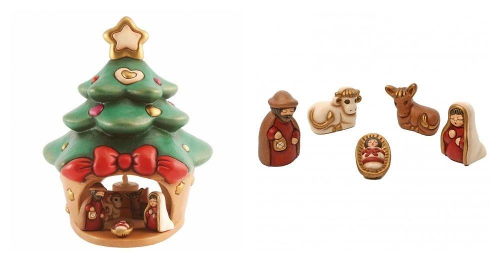 Albero Di Natale Thun Prezzo.Mini Presepe Thun Con Albero Di Natale 2016 Natale Alberi Di Natale Addobbo