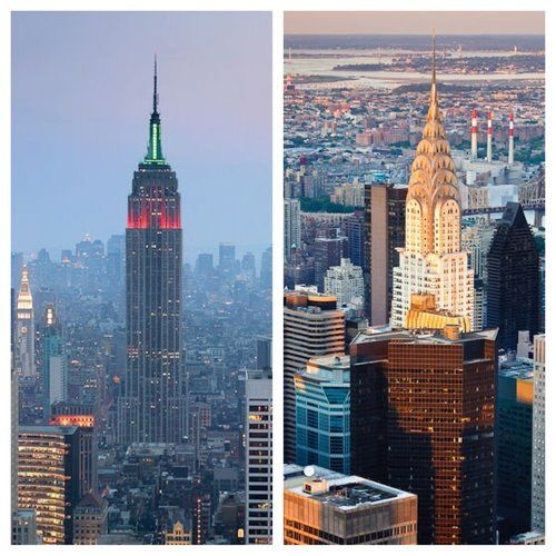 Empire State Building Vs Chrysler Building Which One Is Your