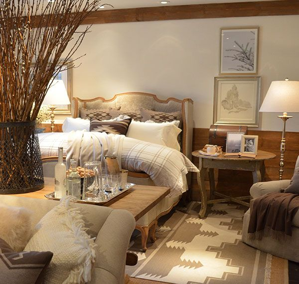 Ralph Lauren 39 S Alpine Lodge Collection Lodge Decor Bedrooms And Cabin