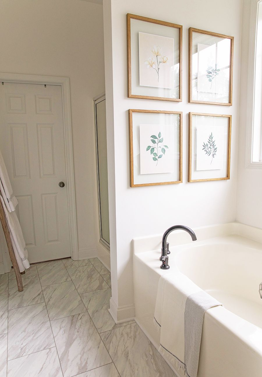 Master Bathroom Renovation Tour In Honor Of Design In 2020 Master Bathroom Renovation Bathroom Renovation Diy Master Bathroom