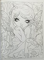 Pin By Shannon Sullivan On 00 Fairy Coloring Pages Coloring