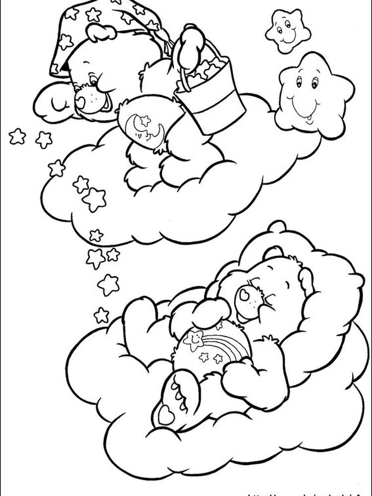 Best Friend Care Bear Bear Coloring Pages Cute Coloring Pages