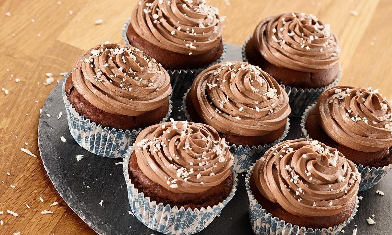 Schokoladen Cupcakes Mit Weichem Kern Glutenfrei Rezept Recipe