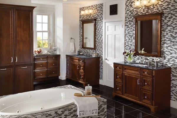 Kraftmaid Bathroom Cabinets.