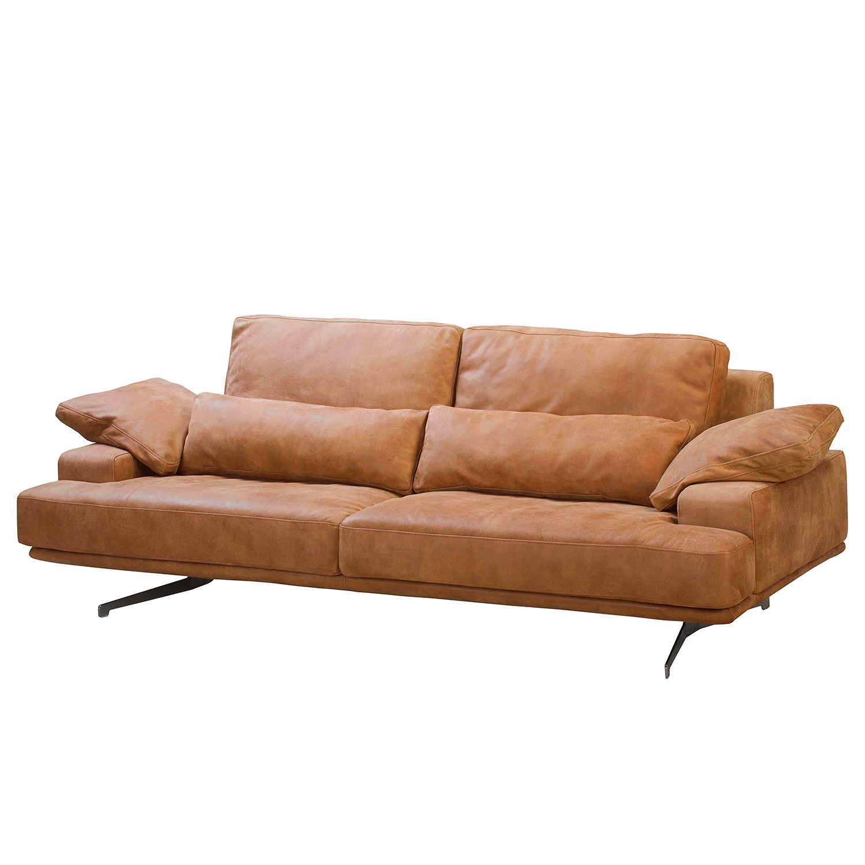 Ars Manufacti Sofa Lurrip I 3 Sitzer Cognac Echtleder 237x86x109 Cm In 2020 Sofa Schone Sofas Sofas