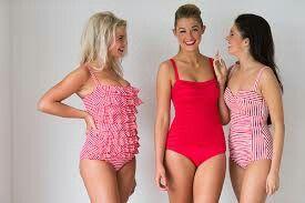 Cute vintage swimsuits